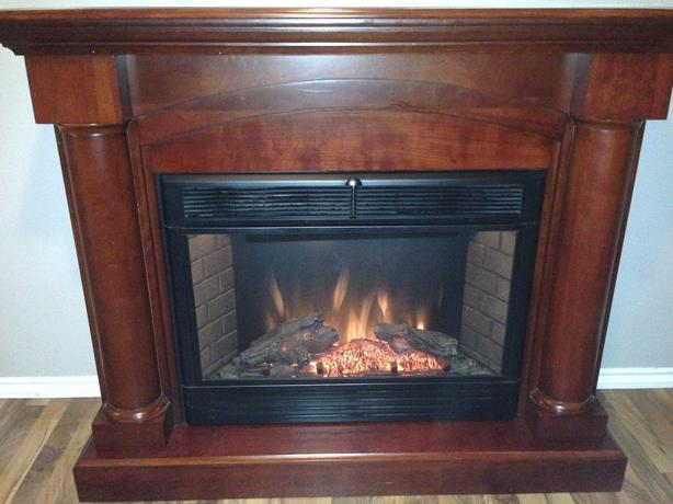 Large Twin Star Electric Fire Place For Sale Esquimalt & View ...