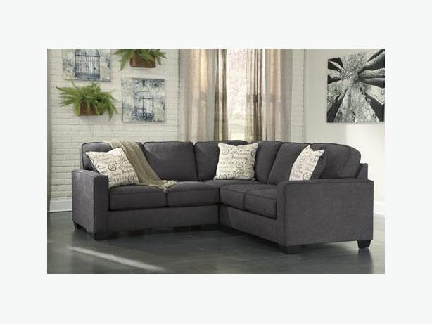 New Alenya Charcoal Sectional