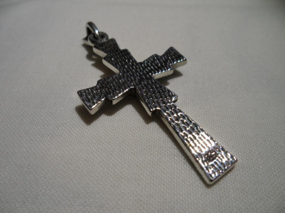 Sterling Silver Cross Pendant Aylmer Sector (Quebec ...