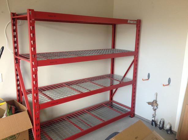 Two snap on utility shelves west shore langford colwood - Snap up shelf ...