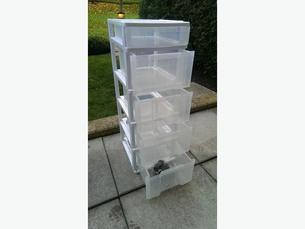 free plastic storage drawers surrey incl white rock vancouver. Black Bedroom Furniture Sets. Home Design Ideas