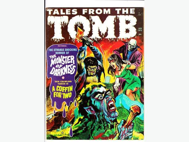 TALES FROM THE TOMB (B&W Horror Magazine) - Eerie Publications / 1969