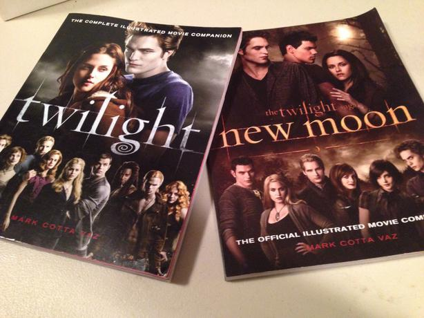 the official illustrated movie companions to twilight and
