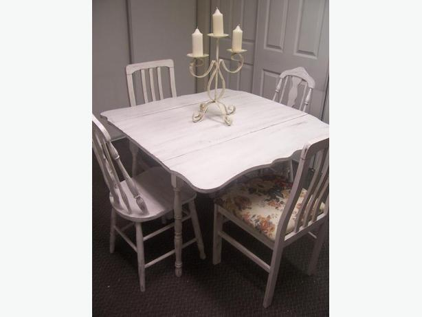 Beautiful Shabby Chic Antique Dining Set For Sale Gloucester Ottawa