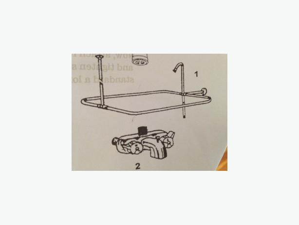 free shower conversion kit for claw foot tub victoria