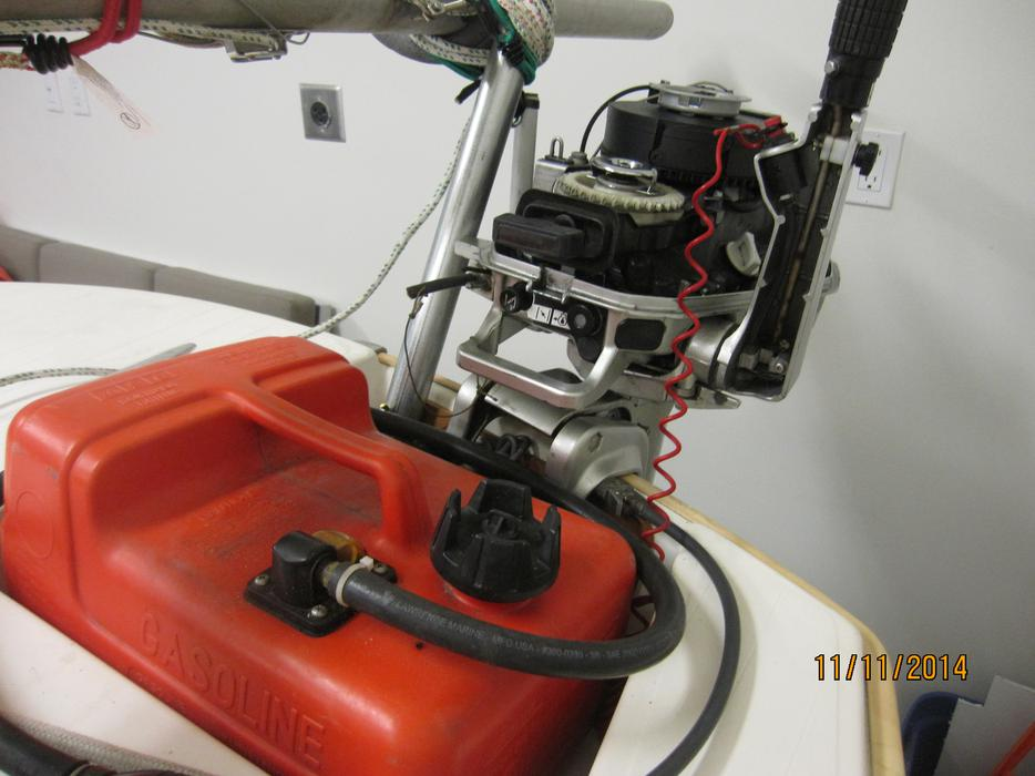 2006 Honda 5hp Four Stroke Outboard For Exchange Or Sale