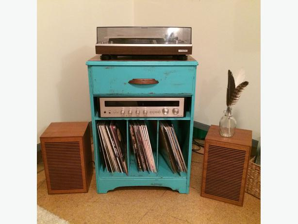 Record Player Stand Nightstand Or Cabinet Esquimalt