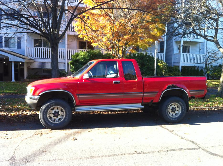 91 Toyota Pickup Manual Trans Extended Cab Victoria City