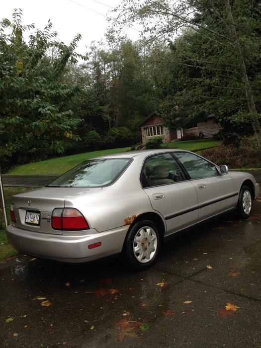 1996 honda accord 4 door standard 5 speed courtenay comox for Used car commercial 1996 honda accord