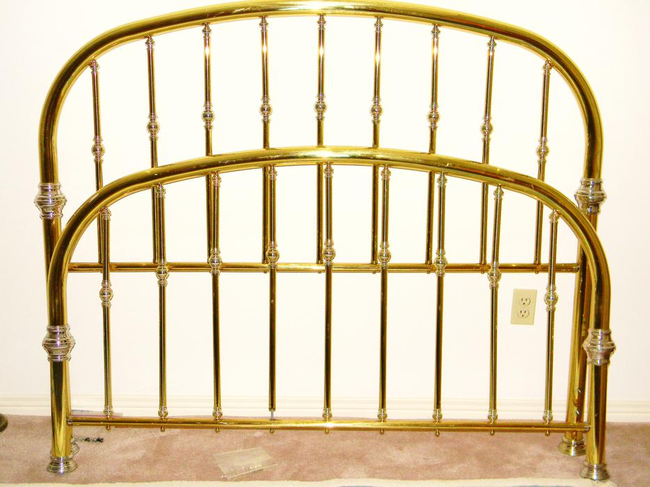 brass bed frame queen or double kanata ottawa