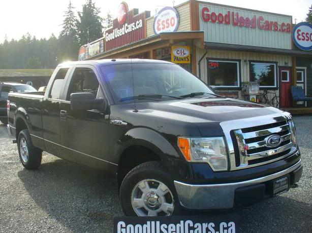 2009 ford f150 ext cab 4x4 xlt cobble hill cowichan mobile. Black Bedroom Furniture Sets. Home Design Ideas