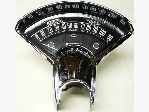 1955 chevy gauge cluster pictures to pin on pinterest