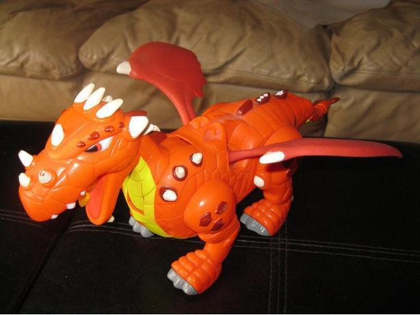 Battery-Operated Dragon
