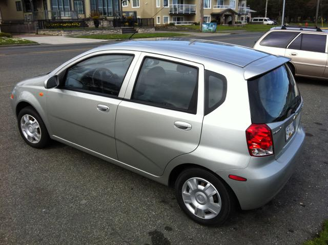 2004 chevy aveo 5 4d hatchback 5 speed manual silver victoria city victoria mobile. Black Bedroom Furniture Sets. Home Design Ideas