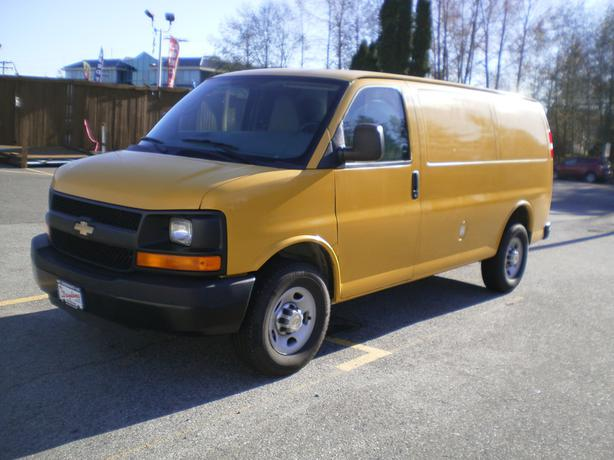 2011 chevrolet express 2500 cargo surrey incl white rock. Black Bedroom Furniture Sets. Home Design Ideas
