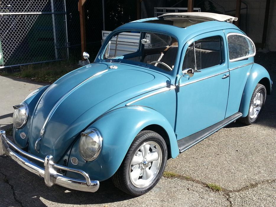 1959 SOFT TOP SUNROOF VW BEETLE BUG Central Saanich, Victoria