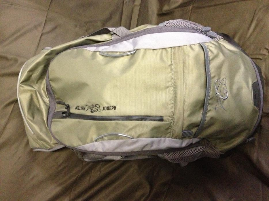 William joseph fly fishing backpack central nanaimo nanaimo for Fly fishing backpack