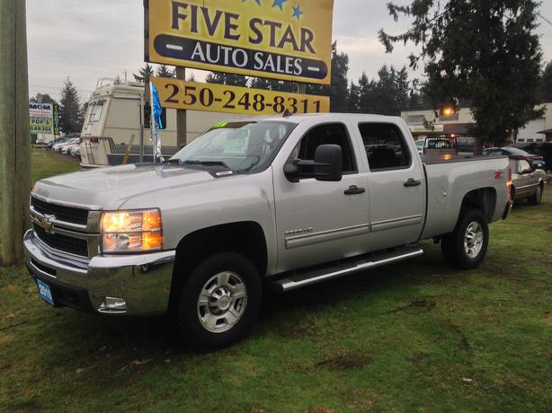 Chevrolet Silverado 2500hd Gatineau >> 2010 Chevrolet Silverado LT 2500 HD Crew Cab 4x4, One Owner Outside Comox Valley, Courtenay Comox