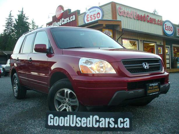 2005 honda pilot ex l loaded malahat including shawnigan lake mill bay victoria. Black Bedroom Furniture Sets. Home Design Ideas