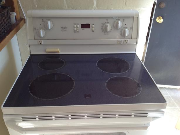 whirlpool stoves how to take off oven door