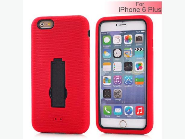 iPhone 6 Plus Defender Style Case with Movie Stand