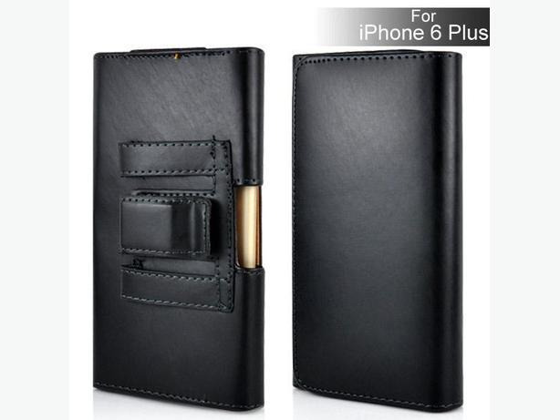 iPhone 6 Plus Leather Belt Clip Case
