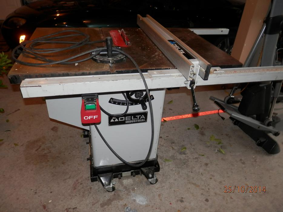 Delta industrial table saw 10 model 36 653c west shore for 10 inch delta table saw
