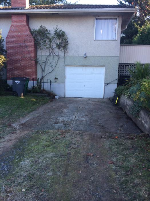 Secure private garage for storage saanich victoria