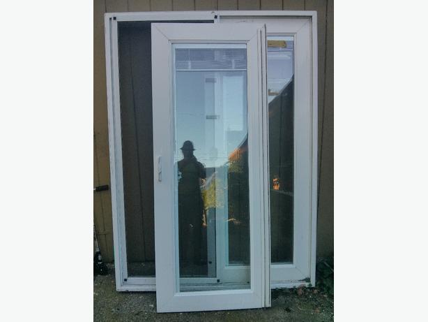 Door inserts victoria city victoria for Exterior doors with screen insert