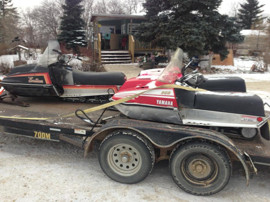 Used Yamaha Snowmobile Parts Alberta