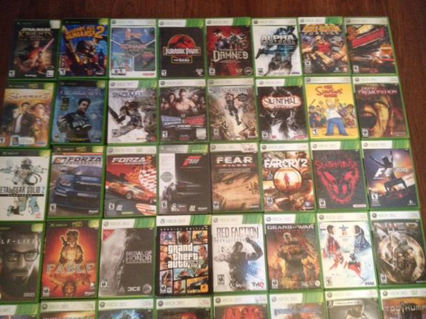 Old Xbox 360 Games : Original xbox and games for sale victoria city