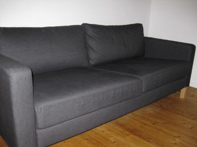 karlstad 3 seater sofa bed west carleton ottawa. Black Bedroom Furniture Sets. Home Design Ideas