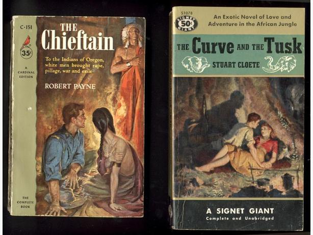 4 Pulp Fiction Paperbacks 1950s