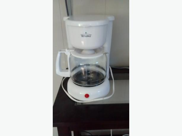 Rival Coffee Maker How To Use : Coffee Maker. Hardly Used! Malahat, Cowichan