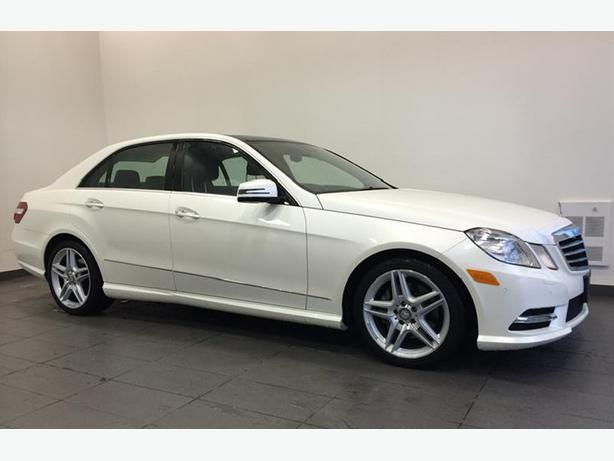 2013 Mercedes Benz E350 4matic Sedan Outside Metro