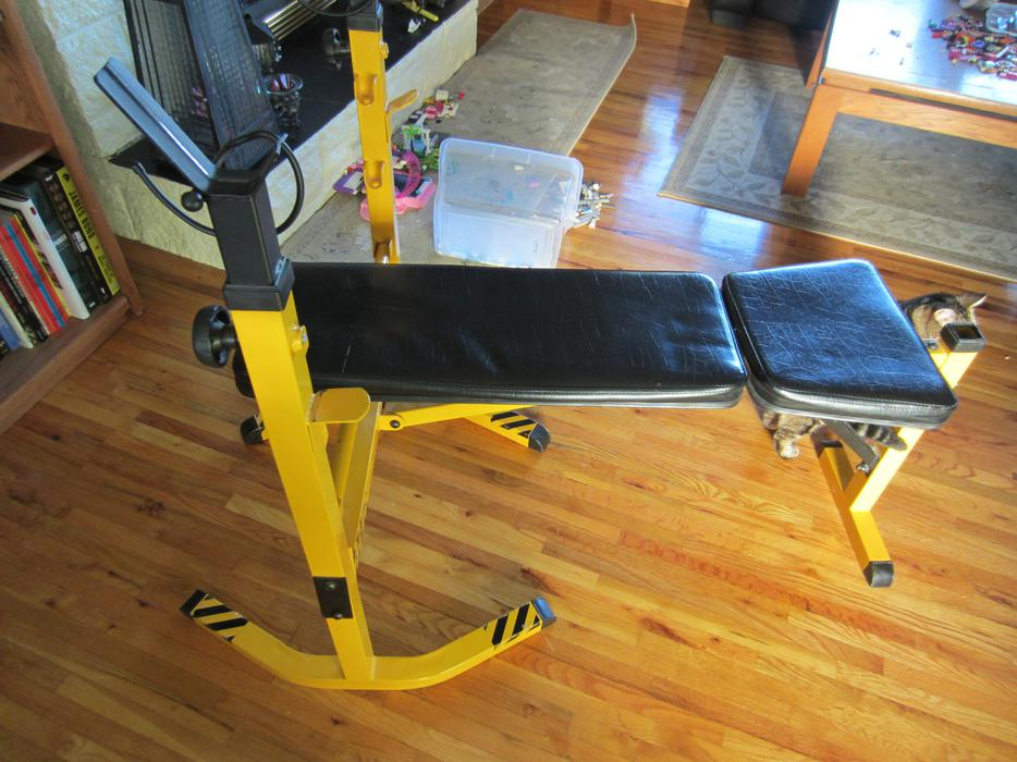 stinger weight bench west shore langford colwood