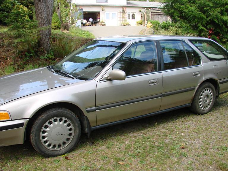 1992 honda accord wagon for parts or fix outside victoria for How many miles does a honda accord last