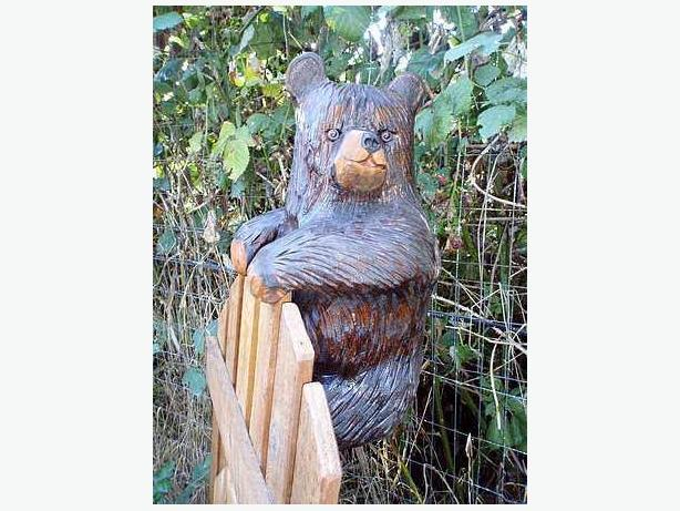 Chainsaw Carvings for gates, buildings etc.