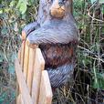 Carvings for fences, sheds, etc.
