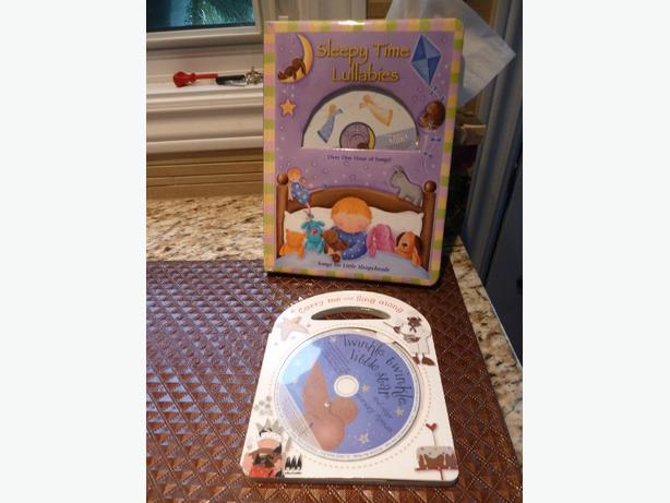 2 Lullaby books with CDs