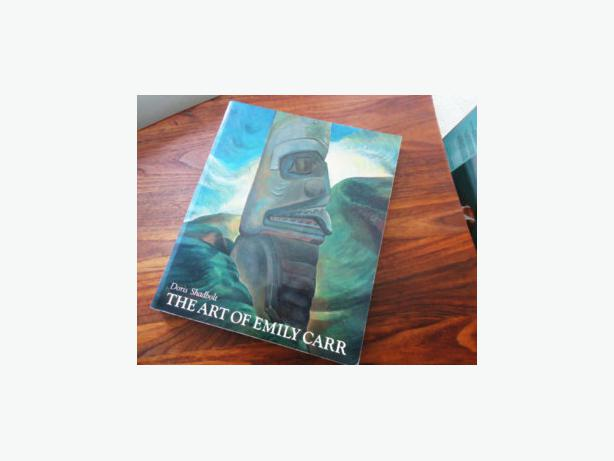 ART  OF  EMILY  CARR  BOOK