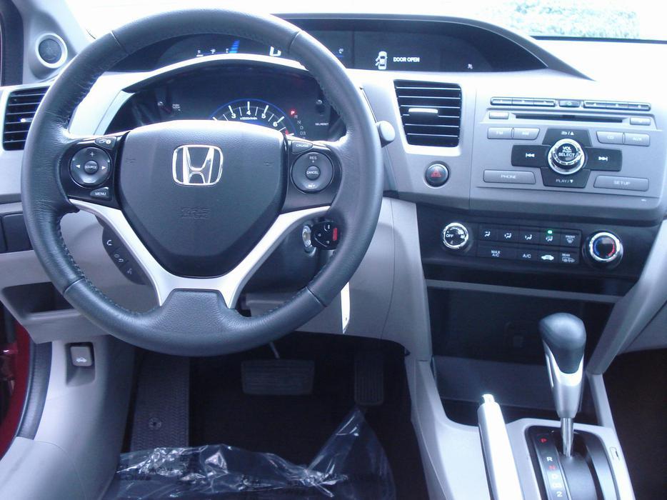 2012 Honda Civic 4 Door Sedan Ex Model Outside Victoria