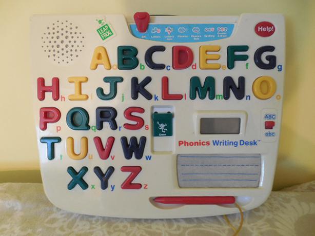 Leapfrog Phonics Writing Desk Saanich Victoria