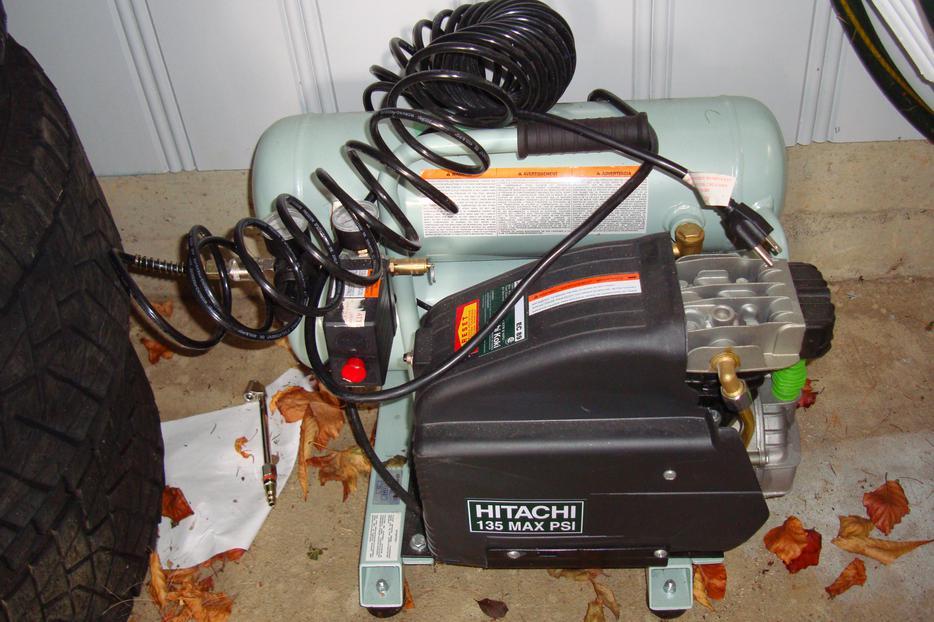 hitachi air compressor ec89 manual