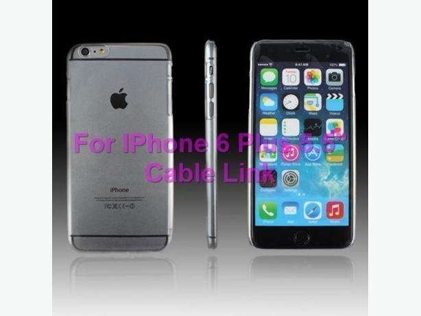 Ultra Thin Clear Transparent Hard Case For iPhone 6 Plus 5.5""