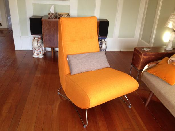 Mint Eq Mollie Chair In Carrot Orange With Eq3 Quebec