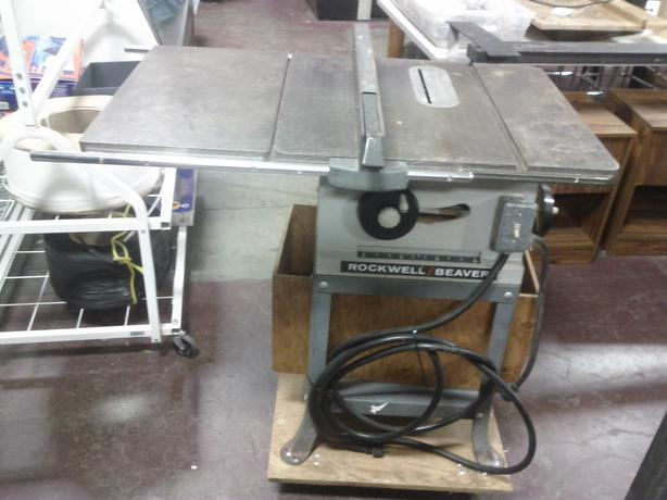 Rockwell Beaver Table Saw Ladysmith Cowichan