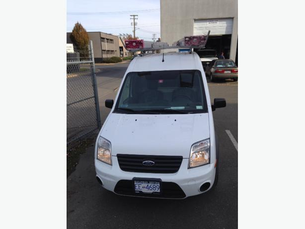 Like New 2012 Transit Connect Xlt W Dual Ladder Rack