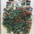 Approx. 1000 Plastic Toy Soldiers, Military Vehicles, Cowboys, Indians, etc.