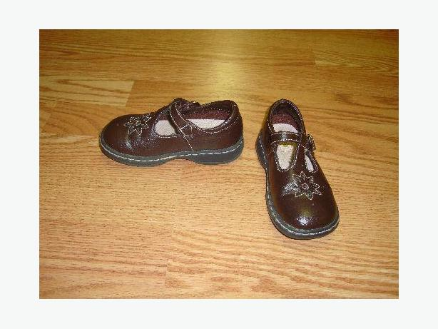 Like New Brown Sandals Size 8 Toddler Buster Brown - Excellent Condition!